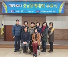 제15기 문예대학 수료식
